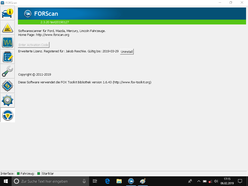 FORScan - My Ford Focus